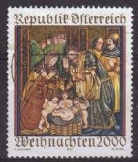 Austria SG2578 2000 Christmas 7s good/fine used